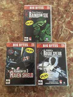 Rainbow Six trilogy - PC (80% New)