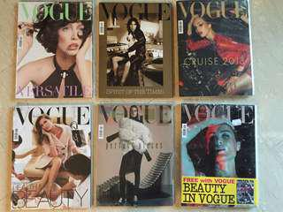 Collector's issues of Vogue Italia (by Franca Sozzani)