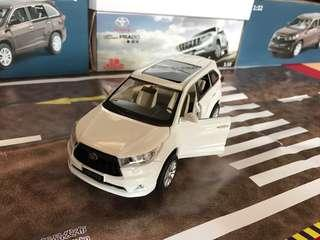 🚚 Toyota Prado Land Cruiser High Lander 1:32 Toy model with led headlight and engine sound