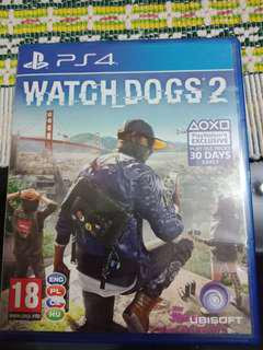 Game PS4 Watch dog2
