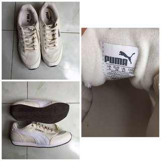 Off white Puma shoes