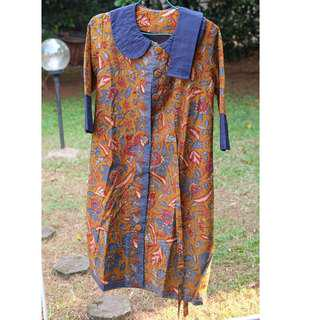 batik longdress