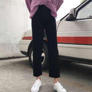 🚚 大推🔥抽鬚直筒褲