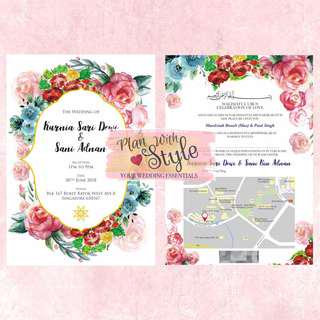 WC35 ~ Wedding Card