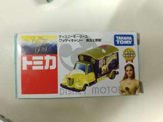 Tomica tomy disney迪士尼 美女與野獸 beauty and the beast .2
