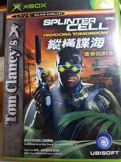 Splinter Cell - Pandora Box Xbox game (free postage)