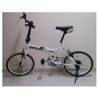 Brand new condition Ginori foldable bicycle bike 6 speed gears