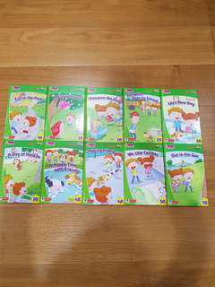 Like brand new robin touch me first key words with robin 1a to 5b 10 books full set
