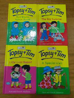 Like new ladybird topsy and tim adventure English book