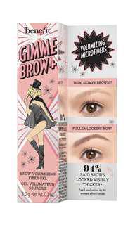 Benefit gimmebrow brow gel