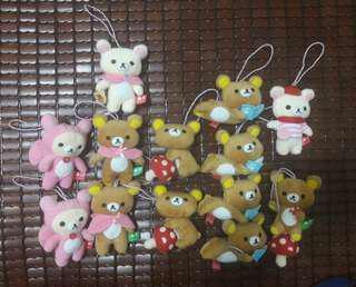 🚚 7-11 拉拉熊 懶懶熊  娃娃