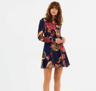 Hold Tight LS Dress C/MEO COLLECTIVE