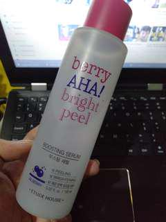 berry AHA! bright peel serum