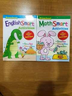 Like new preschool English math smart activities