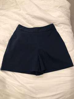Finders high-waisted shorts