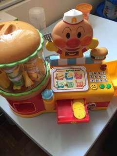 絕版罕有麵包超人漢堡販賣機