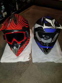 Escooter / Bicycle Fullface Helmets