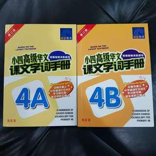 Preloved Higher Chinese Vocabulary 4A/4B