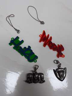 Banpresto JOJO Medal Keychain