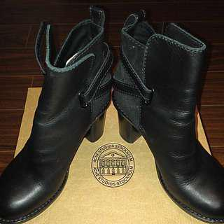 **reduced**ACNE Cypress Con Leather Boots