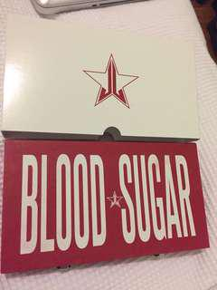 Jeffree star blood sugar palette
