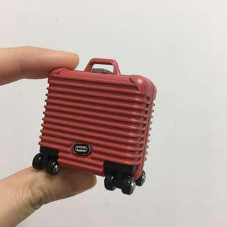 🚚 扭蛋行李箱小盒子 真的可打開裝東西唷
