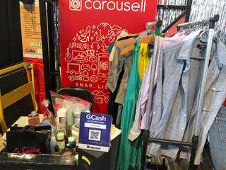 Carousell booth- Globe event
