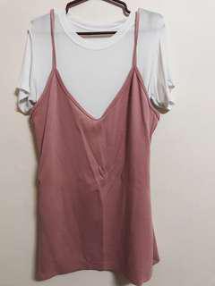 Preloved old rose dress