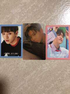 WTS WANNA ONE PHOTOCARDS