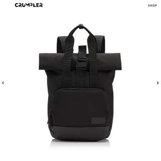 *BRAND NEW* CRUMPLER Algorithm Roll-top Backpack - BLACK
