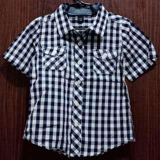 Baby Gap Checkered Polo 9pcs