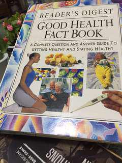 Health book by readers digest