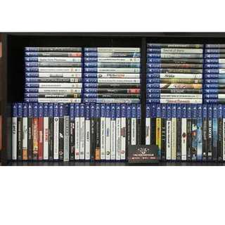 ALL BRAND NEW & SEAL PS4 GAMES