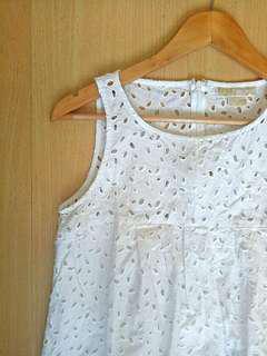 Michael Kors Eyelet Dress
