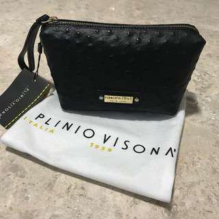 BN Italian Plinio Visona' Clutch Bag