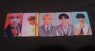 [Ready stock] Bts love yourself answer official photocard