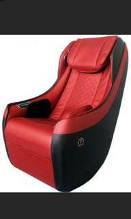 Compact Korean massage chair with multiple functions and built in b/t speakers.