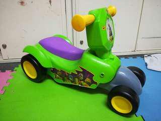 Teenage mutant ninja turtles 2in1 scooter n car