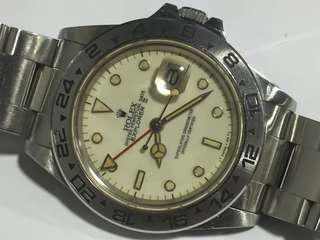 勞力士 Rolex Explorer ii 16550 奶面 象牙面 16570 1655 16710 16610