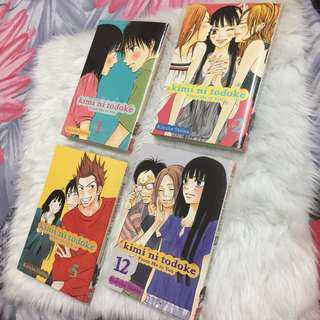 Kimi ni Todoke (Vol 1,2,5,12)