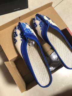 全新38號工藝布鞋