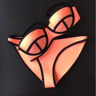 TRIANGL泳衣 triangl bikini (orange)