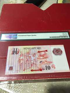 Singapore error note