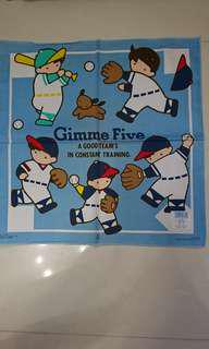 Gimme five 大餐巾