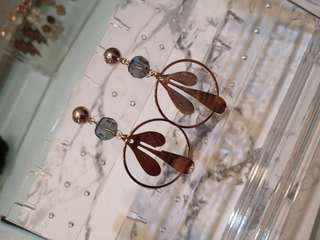 Korean fashion earrings (#055)