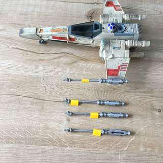 Star Wars x-wing 3D printed missile replacement part vintage 1995