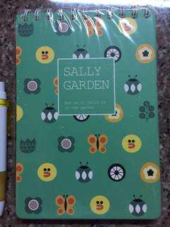 Sally Garden Notebook