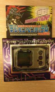數碼暴龍機 20th 超世代 復刻版 黑銀機 99% new pendulum digidevice