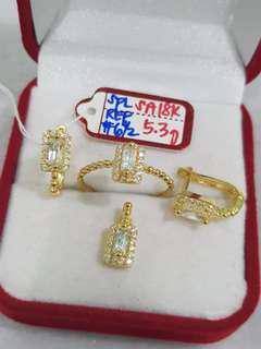 18k SD Gold Set
