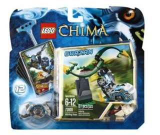 Lego Legends of Chima Whirling Vines 81pcs